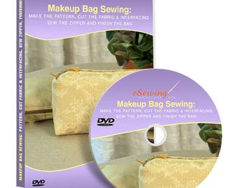 Makeup Bag Sewing Video Lesson on DVD