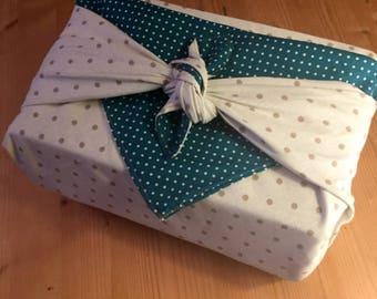 Furoshiki gift wrap zero waste