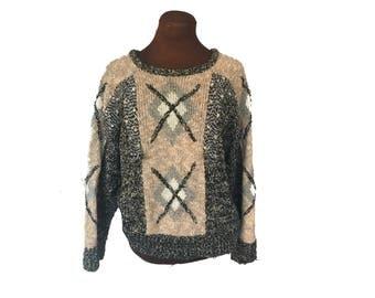 Retro 80s Ugly Sweater Eighties Sweater