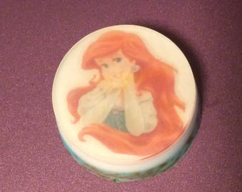 Handmade soap/cartoon character Little mermaid