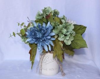 Mason Jar Floral Arrangement
