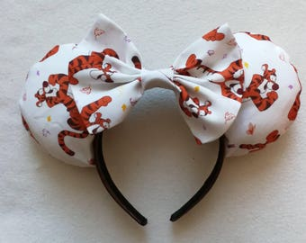 Luxury Tigger minnie mouse ears.