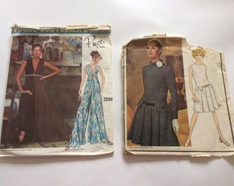 70s Vogue Dress Patterns
