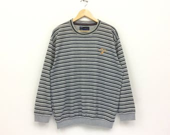 Rare!! Vintage Kangol England Sweatshirt  Embroidery Small logo