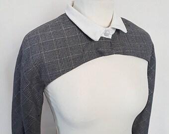 Bolero Jacket grey for women