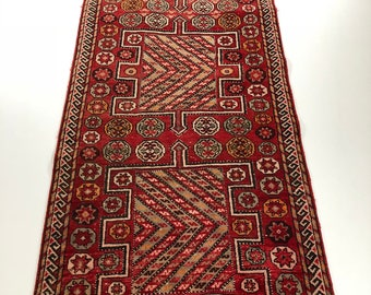 "004996 Lori Semi Antique Persian Rug 3'6""x8'11"""