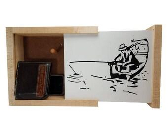Fisherman Concealment Shelf