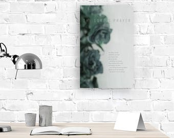 Scripture Wall Art - 11in x 17in Poster