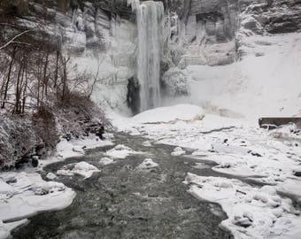 Taughannock Falls from Below - 11x14 Digital Print