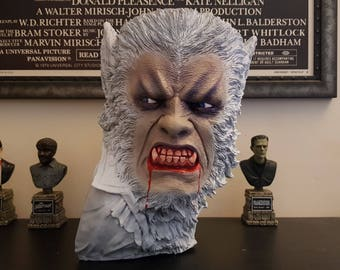 Oliver Reed Curse of the Werewolf Hammer Horror hot 1/1 life size bust prop head wolfman universal horror reid