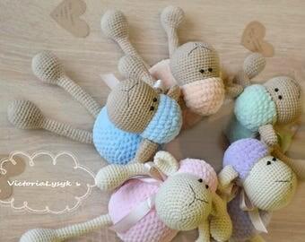 Crochet Sheeps amigurumi toys Organic toys Plush crochet toys Amigurumi toys for a kids