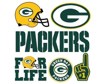 Green Bay Packers Nfl  SVG PNG DXF File football svg files, cricut, silhouette cut file  Vector Cut File
