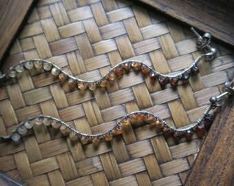 Garnet earrings/necklace