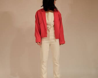 Red Batwing Jacket, S/M