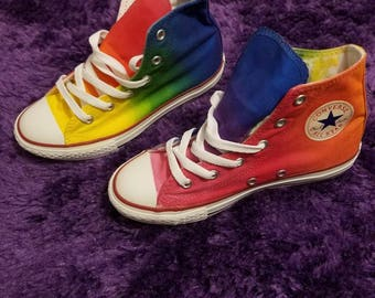 Rainbow kids converse