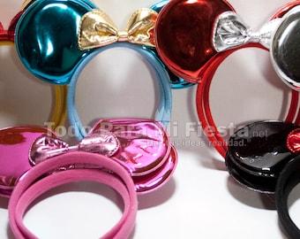 Kids Mickey Ears Headband Mickey Adult Headband 12 pcs