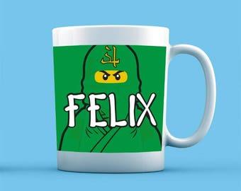 Ninjago Inspired Mug - Personalised