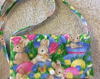 Bunny Children's Over the Shoulder Purse for Easter