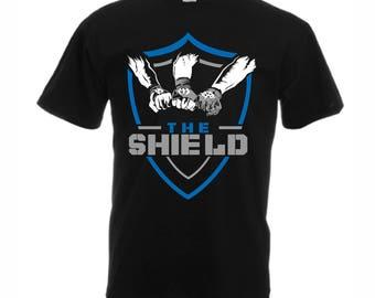 The Shield Dean Ambrose Seth Rollins Roman Reigns T-Shirt Mens