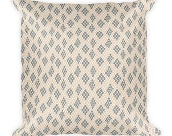 Snake Skin-Square Pillow