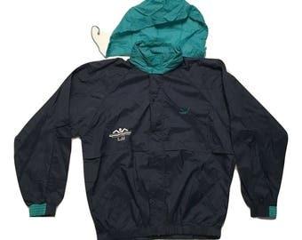 Puma Jacket Hoodie Vintage windbreaker 1990s - Sz M