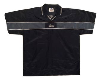Adidas Windbreaker Shirt Vintage 90s - Sz XL