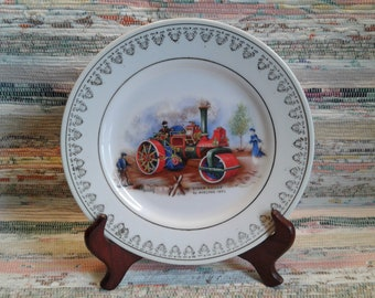 "Decorative plate wall ""Steam Roller"""