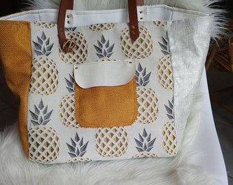 """""""Pineapple"""" tote bag"""