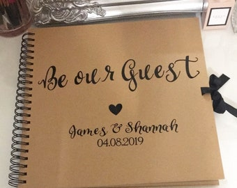 Be our guest guestbook