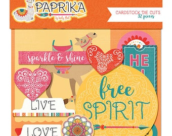 Photo Play Paprika Cardstock Die Cuts