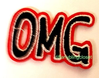 OMG ribbon iron on high quality  sequins / embroidered
