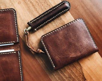 Mens Wallet, Mens leather wallet, Handmade Wallet, Leather Wallet, mens wallets, 4 Card and money, %100 Handmade Wallet,