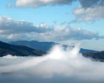 Cloud Geyser
