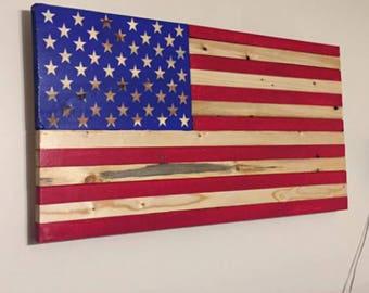 Hand made American flag
