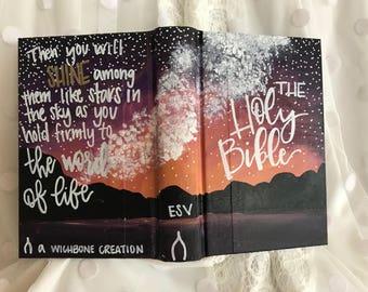 Flint Hills painted Bible