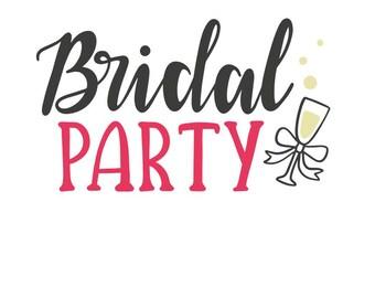 Bridal Party T-shirt/Tank