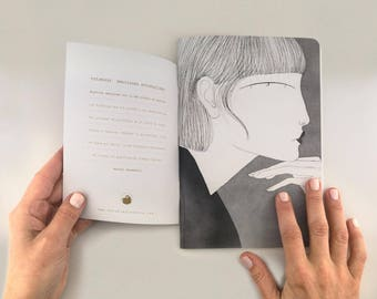 "Notebook Fabric ""Roberta"""