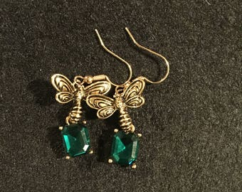 St Patrick's Day Earrings.
