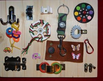 Activity Board Sensory Lock Board Educational Toy Occupational