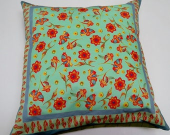 Cushion Cover Scatter Flowers