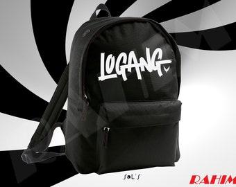 Logan Paul Logang logo youtuber, Backpack