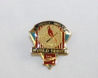 St Louis Cardinals First Game with Florida Marlins Pin, May 11, 1993