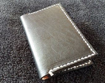 Custom leather bifold wallet