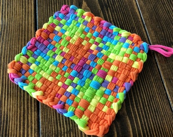 Colorful Nylon Potholder