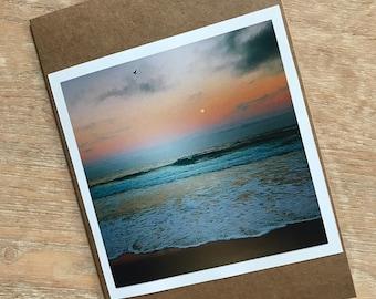 Greeting Card - HARVEST FULL MOON