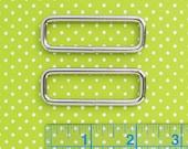 Rectangle Rings 2 Inch | Bag strap or flap closure handbag hardware.
