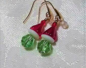 A Little Grinch Earrings