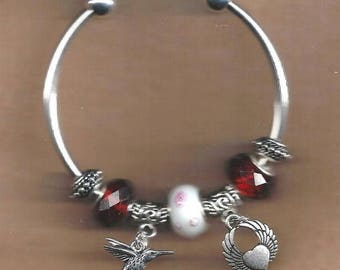 Love Euro Charm Bracelet