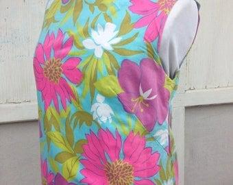 ECLIPSE SALE- Flower Power Dress-Vintage-Small