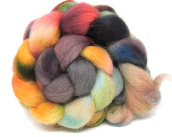 Dorset Horn Hand Dyed Combed Wool Top 100g DH64